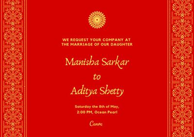 How To Look For An Exclusive Indian Wedding Invitation Card