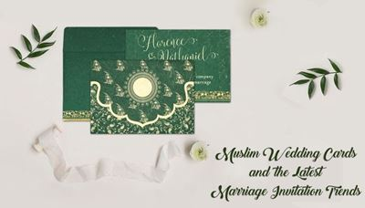 Buy Islamic Wedding Invitation Cards Detailed Features Of